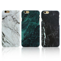 Marble Stone Fashion Case For iPhone 5 5S 6 6S 6 6S Plus