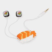 Sushi Earbuds and Cord Wrapper