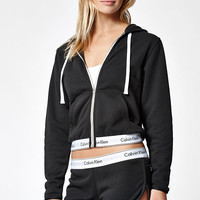 Calvin Klein Modern Cotton Zip-Up Hoodie at PacSun.com
