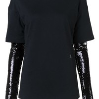 Alyx Sequined Sleeve Top - Hirshleifers - Farfetch.com