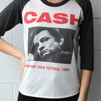 """Johnny Cash"" Vintage Tee"