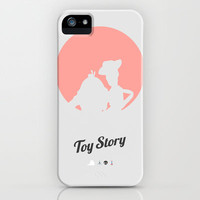 Toy Story - minimal poster iPhone & iPod Case by Mads Hindhede Svanegaard