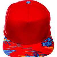 Swag Red Snapback Hat