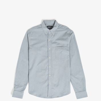 L/S Clean Seam Selvedge Shirt