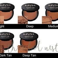 Matte Bronzer Powder