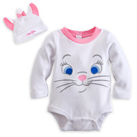 Marie Disney Cuddly Bodysuit Costume Set for Baby - Personalizable