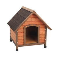 Ware Premium Plus A-Frame Dog House Sz: Small