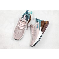 Nike Wmns Air Max 270 Particle Rose Running Shoes