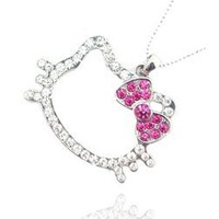 Hello Kitty Necklace - only one (not all pictured) sent randomly (seller's choice).