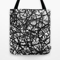 Grunge Art Abstract  G59 Tote Bag by MedusArt
