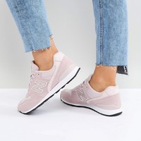 New Balance 996 Trainers In Metallic Pink at asos.com