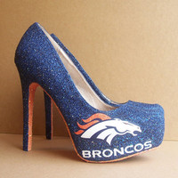 Denver Broncos High Heels