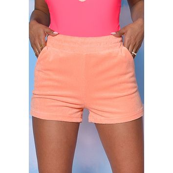 Life Of Leisure Pocket Terry Cloth Shorts
