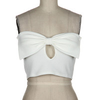 Lilly Bow Crop Top | Bloody-Fabulous