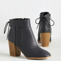 Who Do You Kick You Are? Bootie | Mod Retro Vintage Boots | ModCloth.com