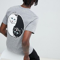 RIPNDIP Nermal yang t-shirt in gray at asos.com