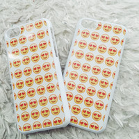 Heart Eye Emoji IPhone case 5/5s/5c/6