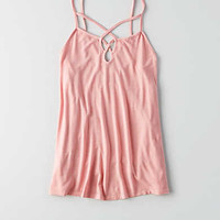 AEO Soft & Sexy Strappy Jegging Tank , Pink