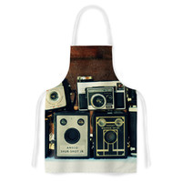 """Robin Dickinson """"Through the Years"""" Vintage Camera Artistic Apron"""