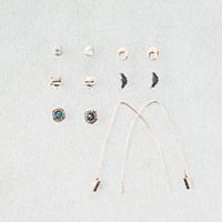 AEO Arrow Pull Throughs and Studs , Gold