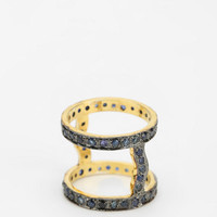 Urban Outfitters - Vanessa Mooney Astral Sapphire Cuff Ring