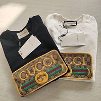 GUCCI Women Fashion Hooded Top Pullover Sweatshirt