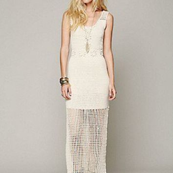 Free People  Clothing Boutique > Kristal's Crochet Daisy Dress