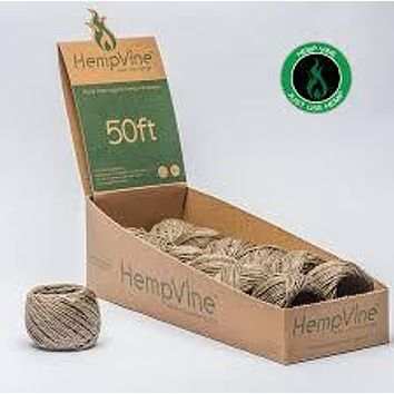 Hempvine Hemp Wick 50 ft Ball