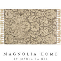 Magnolia Home Jozie Day Silver Rug