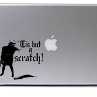 Monty Python Decal / Black Knight Decal / Macbook Decal / Laptop Decal / Macbook Sticker / Laptop Sticker