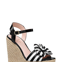 Kate Spade Darya Wedges Black/White