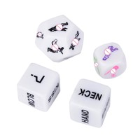 1Pc Adult Erotic Dice Game Toy Sex Party Fun Adult Couple Glow In The Dark Luminous Glow Props Party  Favor Gifts