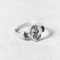 Peg And Awl Chickweed Ring- Silver 6