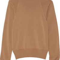 The Row - Teresa merino wool and cashmere-blend turtleneck sweater