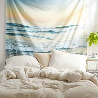 Guido Montanes Beach Tapestry