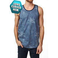 Deon Sublimation Long Curved Tank