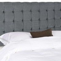 Lamar Queen Headboard Grey