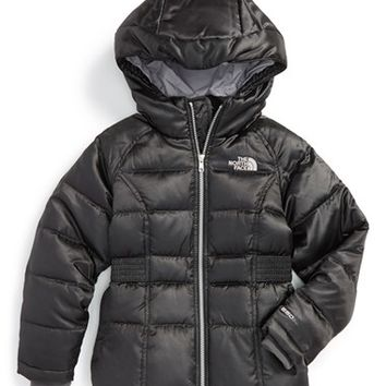 The North Face Girl's 'Ileana' Water Resistant Down Parka,