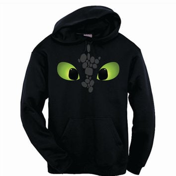 Toothless How To Train Your Dragon Adult Hoodie