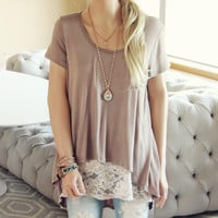 Hawkens Lace Tee