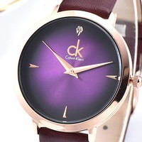 CK Calvin Klein Tide brand men's and women's simple and stylish wild quartz watch #4