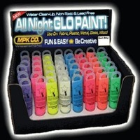Next Generation SUPER Glow in the Dark (And Blacklight) Paint:Amazon:Clothing