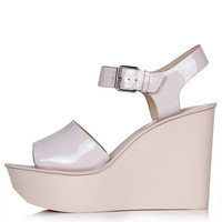 WEDDING Two-Part Wedge Sandals - New In This Week - New In