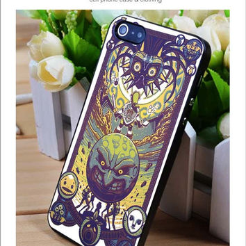 Zelda Majora's mask iPhone for 4 5 5c 6 Plus Case, Samsung Galaxy for S3 S4 S5 Note 3 4 Case, iPod for 4 5 Case, HtC One for M7 M8 and Nexus Case