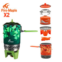 Compact One-Piece Camping Stove