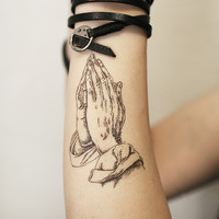 Wish , temporary tattoo, Designed temporary tattoo T266