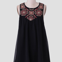 Chasing The Sun Embroidered Dress