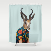 Polaroid n°13 Shower Curtain by Francesca Miele (Natt)