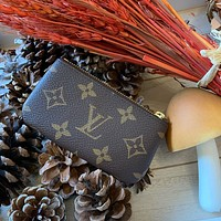 LV KEY POUCH Women's Mini Wild Key Case