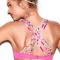 Strappy Scoopneck Halter Top - PINK - Victoria's Secret